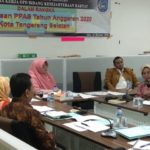 Rapat Pembahasan KUA PPAS 2020 Kota Tangerang Selatan