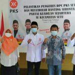 Ketua DPD PKS Kota Tangsel Lantik Pengurus DPC Setu